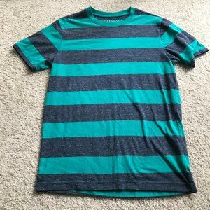 AEROPOSTALE Green and Grey Tshirt Size S